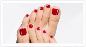 French Pedicure Stramproy